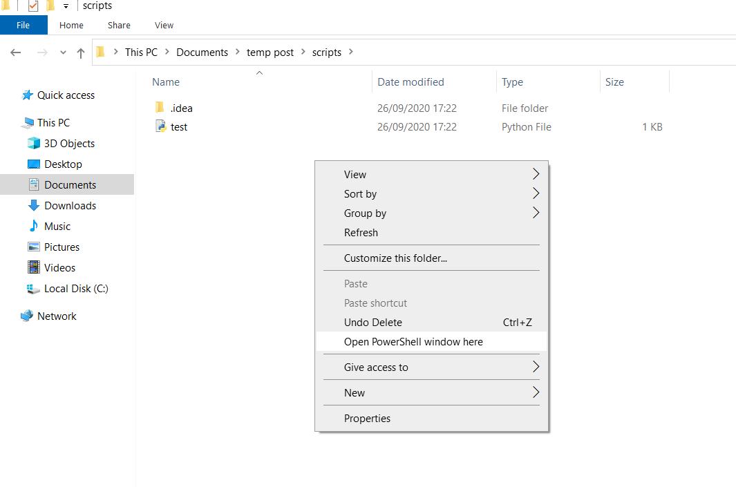 cara menggunakan dan menjalankan python di cmd windows - 7