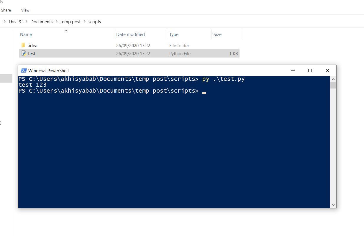 cara menggunakan dan menjalankan python di cmd windows - 8