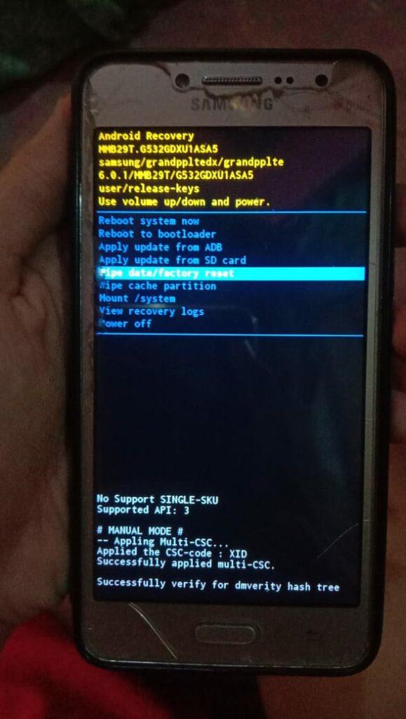 Cara Mengatasi Lupa Pola Android, gak ribet - pesonainformatika.com