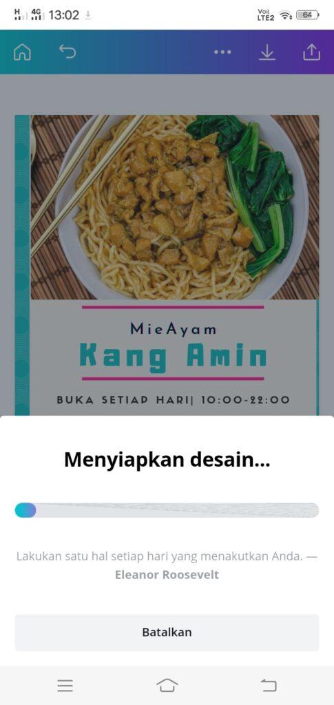 Keren!, Cara membuat poster di canva menggunakan android. - pesonainformatika.com