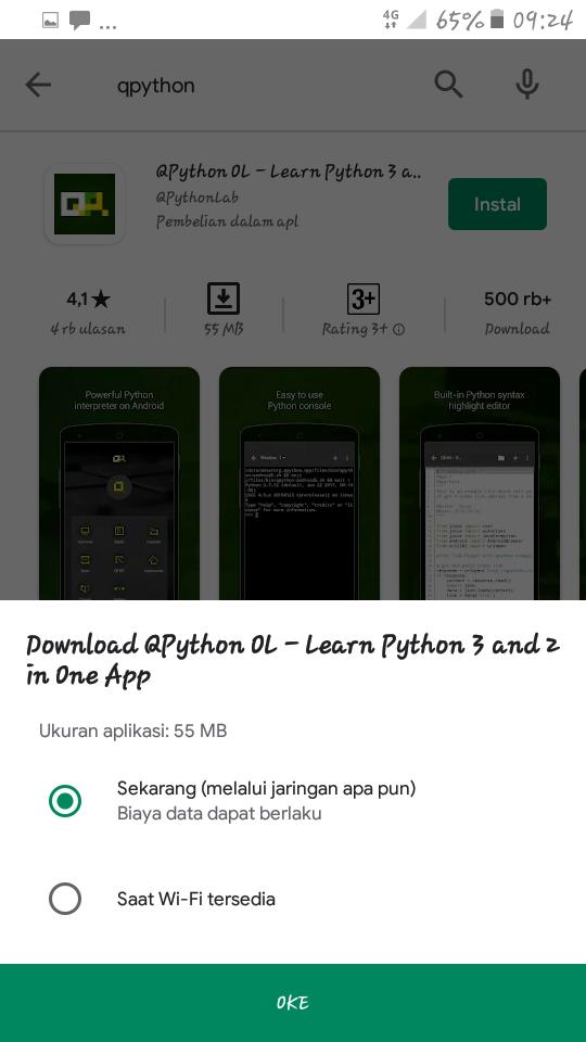 2 Tips Menggunakan Python di Android - pesonainformatika.com