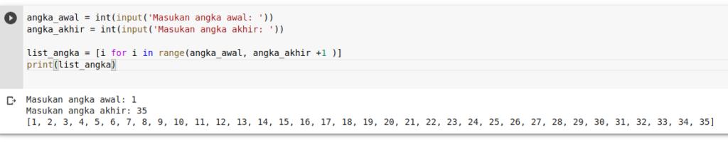 program mencetak bilangan prima python - 2